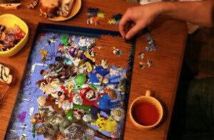 Arcade Retro Theme Jigsaw Puzzles