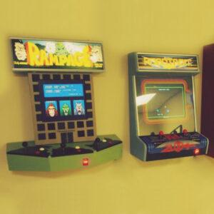 Wall Mountable Arcade Systems